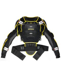 Spidi Warrior Jacket Body Armour Black/Yellow M