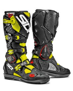 Sidi Crossfire 2 SRS Textile Boot Fluorescent Yellow/Black