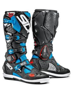 Sidi Crossfire 2 SRS Textile Boot Light Blue/Black