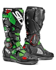 Sidi Crossfire 2 SRS Textile Boot Fluorescent Green/Black