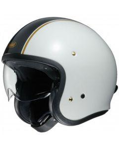 Shoei J.O. Open Face Helmet Carburettor  White