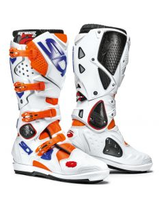 Sidi Crossfire 2 SRS Textile Boot Orange/White