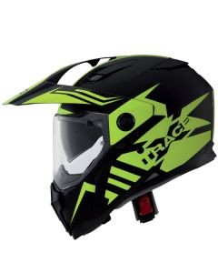 Caberg X-Trace Adventure & Dual Sport Helmet  Matt Black Matt/Yellow