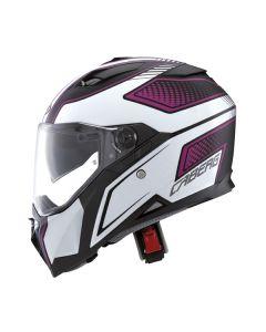 Caberg Stunt Full Face Helmet  Matt Pink
