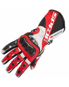 Spada Predator II Leather Black/Red
