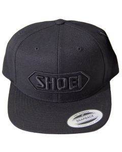 Shoei Acrylic Baseball Cap Black/Black One Size