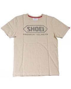 Shoei Cotton  T-Shirt Sand S