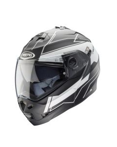Caberg Duke Flip Up Helmet Gravity Matt Black Matt/White