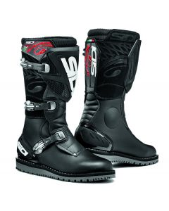 Sidi Trial Zero 1 Leather Boot Black