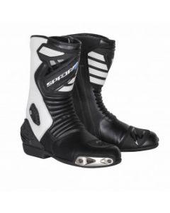 Spada Sportour Leather Boot White