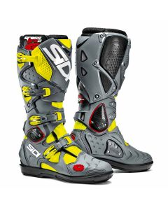 Sidi Crossfire 2 SRS Textile Boot Yellow/Grey