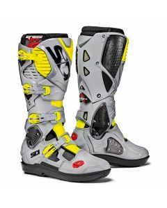 Sidi Crossfire 3 SRS Textile Boot Black/Ash/Yellow