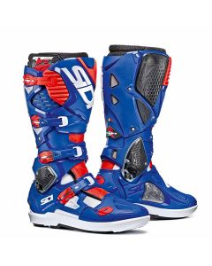 Sidi Crossfire 3 SRS Textile Boot White/Blue/Red