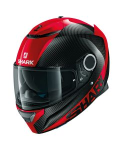 Shark Spartan Carbon Full Face Helmet Skin  Red/Black