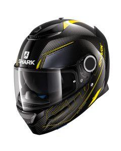 Shark Spartan Carbon Silicium Helmet Carbon/Yellow/Anthracite