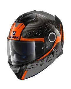 Shark Spartan Carbon Cliff Helmet Carbon/Orange/Anthracite