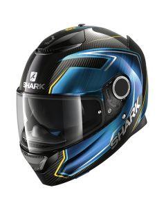 Shark Spartan Carbon Guintoli Helmet Carbon/Blue/Yellow