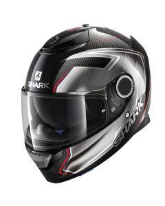 Shark Spartan Carbon Guintoli Helmet Carbon/Chrome/Red