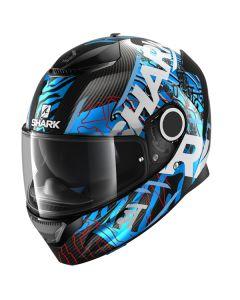 Shark Spartan Carbon Daksha Helmet Carbon/Blue/White