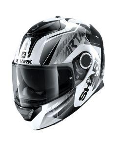 Shark Spartan Karken Helmet White/Black/Black