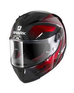 Shark Race-R Pro Deager Helmet Carbon/Chrome/Red