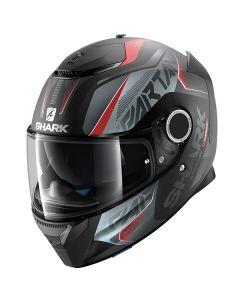 Shark Spartan Helmet Karken Matt Black/Red/Gray