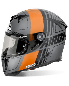 AIROH HELMET GP500 FULL FACE -  SCRAPE Orange Matt XS