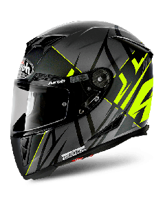 AIROH HELMET GP500 FULL FACE -  Sectors Yel Matt XS