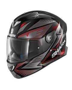 Shark Skwal 2 Draghal Helmet Black/Anthracite/Red