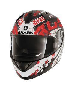 Shark Ridill Helmet Kengal Matt Black/White/Red