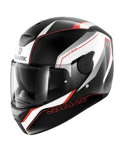 Shark D-Skwal Full Face Helmet Rakken  Black/White/Red