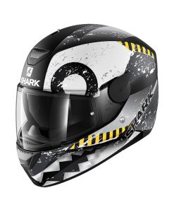 Shark D-Skwal Helmet Saurus Matt Black/White/Gray