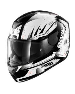 Shark D-Skwal Full Face Helmet Dharkov  Black/White/Red