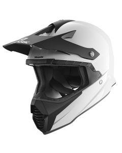 Shark Varial Blank Helmet White