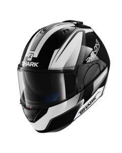 Shark Evo One Full Face Helmet Astor  Black/White/Gray