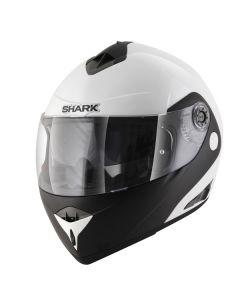 Shark Openline Flip Up Helmet D-Tone  White/Black/White