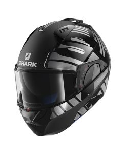 Shark Evo One 2 Lithion Helmet Black/Chrome/Anthracite