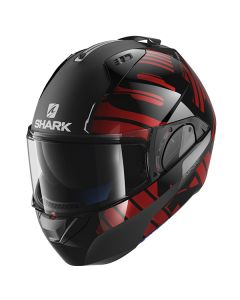 Shark Evo One 2 Lithion Helmet Black/Chrome/Red