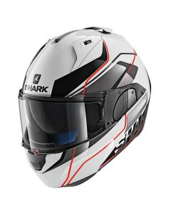 Shark Evo One 2 Krono Helmet White/Black/Red