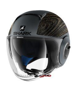 Shark Nano Open Face Helmet Siji Silver