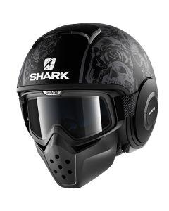 Shark Drak Helmet Sanctus Matt Black/Gray/Gray