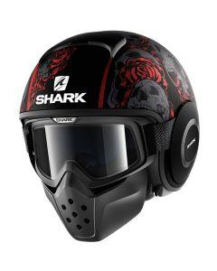Shark Drak Helmet Sanctus Matt Black/Red/Gray