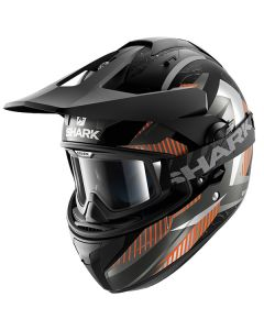 Shark Explore-R Helmet Peka Matt Black/Gray/Orange