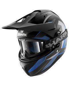 Shark Explore-R Helmet Peka Matt Black/Blue/Gray
