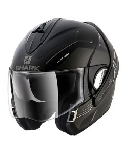 Shark Evoline Helmet Hataum Matt Black/Silver/White