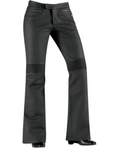ICON Hella™ Sport-Riding Sport Fit Leather Pant Black