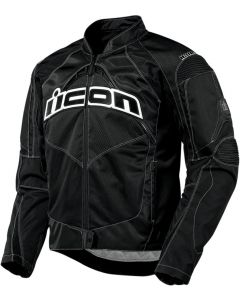 ICON Contra Fighter Mesh Sport Fit Jacket Black