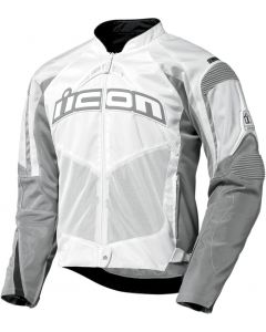 ICON Contra Fighter Mesh Sport Fit Jacket White