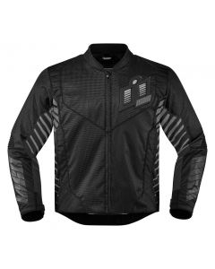 ICON Wireform Textile Sport Fit Jacket Black / Gray