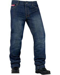 ICON Strongarm 2™ Sport-Riding Relaxed Fit Denim Pant Blue